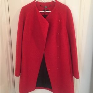 Red wool Autograph coat